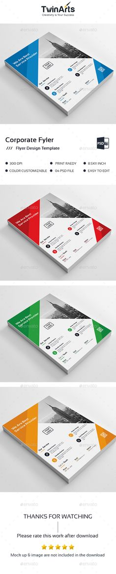 Flyer   PSD Template #business • Download ➝ https://graphicriver.net/item/flyer-template-/17163863?ref=pxcr