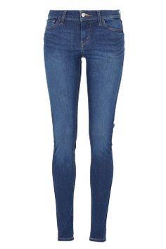 Levi's Jeans 710 super skinny fit i fargene Mellomblå/deep indigo, Mørk blå/deep end, Mørk blå/pasific rinse, Mellomblå/under stars, Lys blå/northern lights, Svart/black cove innen Dame - Jeans - Ellos