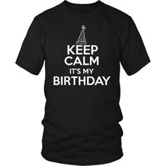 Keep Clam It's my Birthday