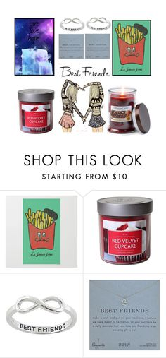 """""""best friends"""" by heather-gabrielle-tomlinson on Polyvore featuring interior, interiors, interior design, home, home decor, interior decorating, Lazuli, Target, Eternally Haute and Dogeared"""