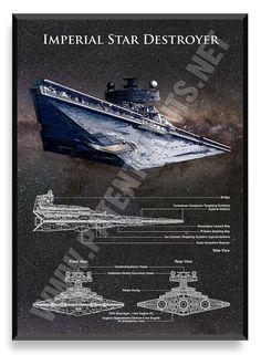 Imperial Star Destroyer, Star Wars Poster