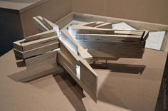 The Unfinished Cathedral, model and photograph bydraftworks*architects, architectural model, maqueta, maquette, modulo