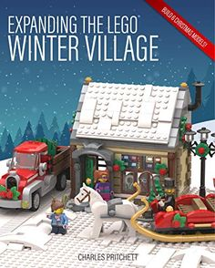 [Free] Expanding the Lego Winter Village Author Charles Pritchett, Lego Christmas Village, Lego Winter Village, Christmas Villages, Christmas Themes, Christmas Displays, Christmas 2019, Christmas Crafts, Lego Gingerbread House, Snowboard Shop