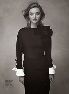 Miranda Kerr in Valentino by Nicole Bentley for Vogue Australia July 2014