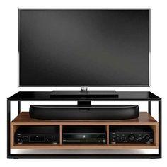 BDI Sonda 8656 TV Cabinet (€1.000) ❤ liked on Polyvore featuring home, furniture, storage & shelves, entertainment units, electronics, tv, technology, shelving furniture, shelf furniture and bdi