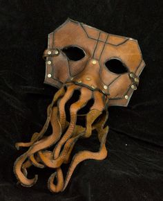 The Kraken leather mask - Oh fuck yes.