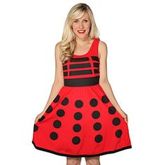 Dalek A-Line Dress | ThinkGeek