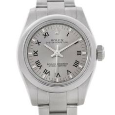 Rolex Oyster Perpetual Nondate Ladies Steel Watch 176200. Get the lowest price on Rolex Oyster Perpetual Nondate Ladies Steel Watch 176200 and other fabulous designer clothing and accessories! Shop Tradesy now