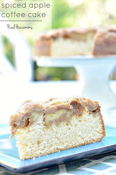 Spice Apple Coffee Cake is my favorite way to start a fall day!