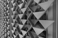 McGregor Memorial Conference Center, Wayne State University, Detroit MI | Architect : Minoru Yamasaki & Associates | Image : sethpm
