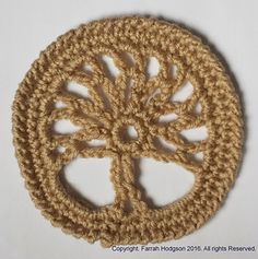 Ravelry: Tree of Life Circle pattern by Farrah for 365 Crochet