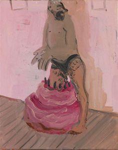 Tala Madani (Iranian, 1981) - Diving in Cake, 2006