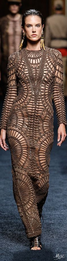 And this shall be called the sausage dress because no matter how thin you are you will look like a sausage wearing it!