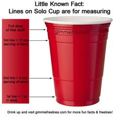 How to use a Solo cup as a measuring cup! | Kitchen Secrets ...