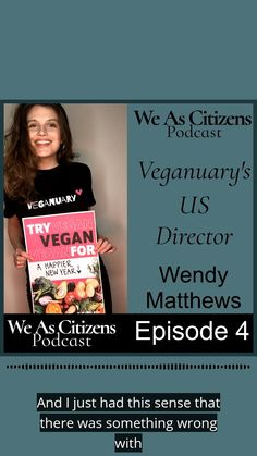 Veganuary is a non-profit organization that encourages people worldwide to try vegan for January and beyond. I had a great talk with Wendy about her experiences in becoming a vegan and what it was like making the change. Vegan Dinner Recipes, Vegan Snacks, Vegetarian Recipes, What Makes You Happy, Vegan Cheese, How To Become, How To Make, Wisdom Quotes, January
