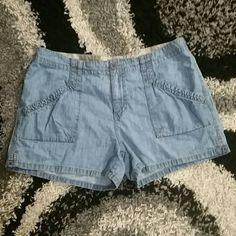 Final pricecut Blue Denim shorts Cute shorts in excellent preloved condition Faded Glory Jeans