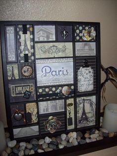 Paris Tray - Scrapbook.com