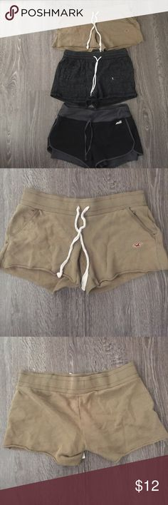 Shorts All size M the second black comes with two pairs Shorts