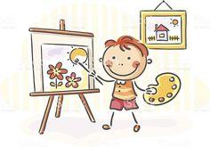 Pintura download vetor e ilustração royalty-free