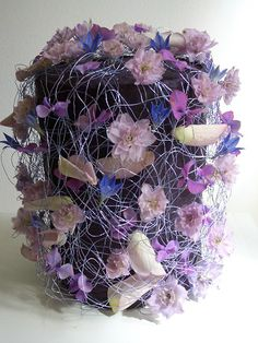 Florale Urne - Frieda Schwarz