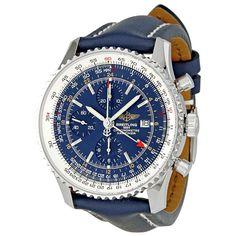 Breitling Navitimer World Chronograph Men's Watch A2432212-C651BLLT - Navitimer World - Navitimer - Breitling - Watches - Jomashop