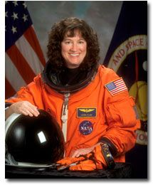 Dr. Laurel Blair Salton Clark.  Dr. Clark died February 1, 2003 when Space Shuttle Columbia and the crew perished during re-entry, 16 minutes prior to scheduled landing.
