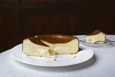 Lady and Pups     Japanese melty icebox cheesecake