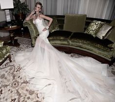 1920's Inspired Wedding Dress: Galia Lahav