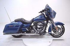eBay: 2014 Harley-Davidson Touring 2014 Harley Davidson FLHX Street Glide #harleydavidson