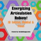 Energizing Robots Articulation /s/ Game!  Included in this game pack:    12/s/ initial word cards with pictures  12/s/ medial word cards with pictures  ...