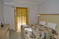 Santos Luxury Apartment no 34 in Corfu can sleep four or five people. Located just 50 meters from the Dassia Beach is the ideal place for families. Corfu Apartments, Luxury Apartments, Holiday Apartments, Luxury Holidays, New Builds, Vacation, Bed, Furniture, Studios