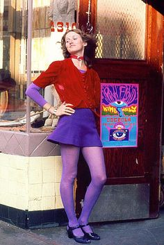 October, 1970 Haight Street, San Francisco.