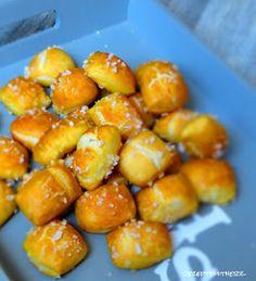 Rezepte mit Herz ♥: Softe Brezel Bites - Laugenkonfekt a la Auntie Anne
