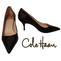 Cole Haan black heels Excellent condition patent leather Cole Haan heels. Cole Haan Shoes Heels