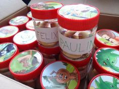 Geburtstagsgläser / Birthday jars / Upcycling