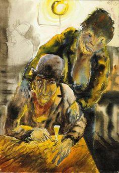Otto Dix - Penne Unverkäifenlich! (1923)