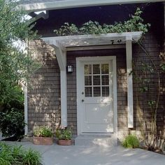 House exterior design front entrances the doors 41 ideas Door Treatments, House Exterior, Exterior Design, Door Awnings, Door Pergola, Back Doors, Exterior, Curb Appeal, Doors