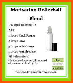 Changing gears - it is less than 4 weeks until Christmas! We may all need some motivation!   Price Drop at Amazon on 10ml Rollerballs! 18 for $8.33 and FREE Shipping with Amazon Prime!   Love to have these on hand to make quick blends! Act quickly since prices on Amazon can flip quickly!   http://www.amazon.com/Empty-Perfume-B…/…/ref=as_sl_pc_tf_cw…  This is an Affliate link, we only recommend items that we personally use!