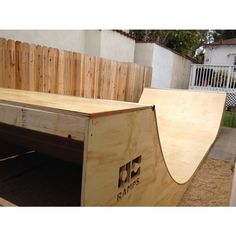 Half Pipe Ramp - 8 Foot Wide An OC Ramp like this is coming soon to my back yard! Half Pipe Plans, Mini Ramp, Skateboard Ramps, Skate Ramp, Outdoor Ideas, Backyard Ideas, Outdoor Decor, Outdoor Recreation, Skateboards