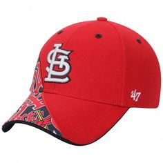 4e7659e015403 Men s  47 Red St. Louis Cardinals Wedge MVP Adjustable Hat  CoolHats  Cardinals Hat