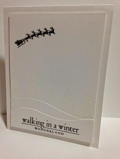 Cupcakes, Cards and Kim: ColourQ #269 and Papertrey Ink's November Blog Hop--winter wonderland
