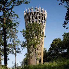 Jübergtower Hemer Landmark by Birk + Heilmeyer and Knippers Helbig Advanced Engineering