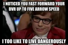 Haha...reminds me of my Mom when she fast forwards on the DVR..she ALWAYS fails to stop it in time...lol