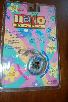 Nano Baby...haha yes! I had so many of these and I used to get people to babysit them when I was at school!