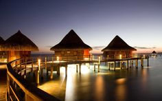 8. Spend the night: And then of course there's the good old-fashioned overwater villa. Oberoi in Mauritius, Kia Ora Resort & Spa, Hotel Bora Bora in French Polynesia,and Soneva Gili in the Maldives all have stunning ones.