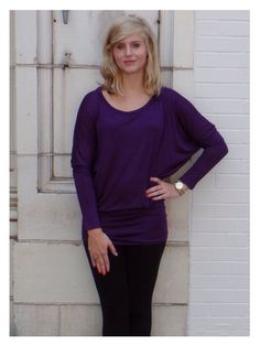 Purple Tunic Top - Perfect for #gameday #clemson