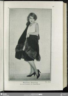 Marlene Dietrich. Revue des Monats, 1.1926/27,  H.2, Dezember