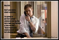 Hey Girl,    There is nothing hotter than watching you on the phone with the insurance company.    You're so sexy when you're angry.