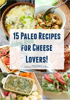 It's time to cut the cheese! Wait -- not like that! If you are finding cheese a tough tie to break when going Paleo, read my tips for making it happen AND 15 awesome recipes to back up my advice! Popular Paleo