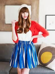 I made this skirt, from the book this photo is from